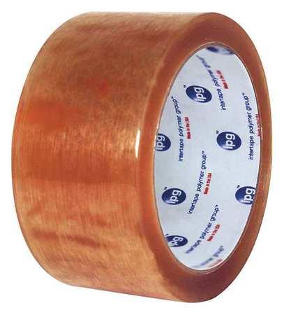 IPG Carton Tape,Clear,2 In. x 110 Yd.,PK36, N8213G