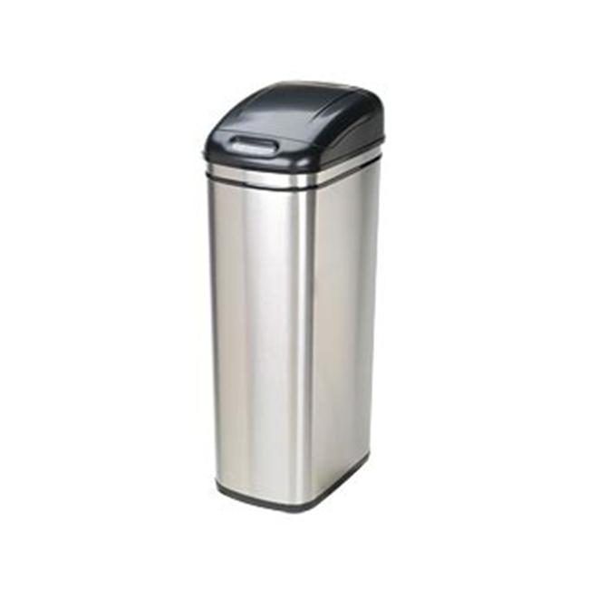 nine star dzt-50-6 rectangle 13.2 gallon - 50 liter trash can