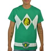 Power Ranger Green Ranger Suit Green Licensed T-shirt NEW Sizes S-4XL