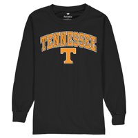Tennessee Volunteers Fanatics Branded Youth Campus Long Sleeve T-Shirt - Black
