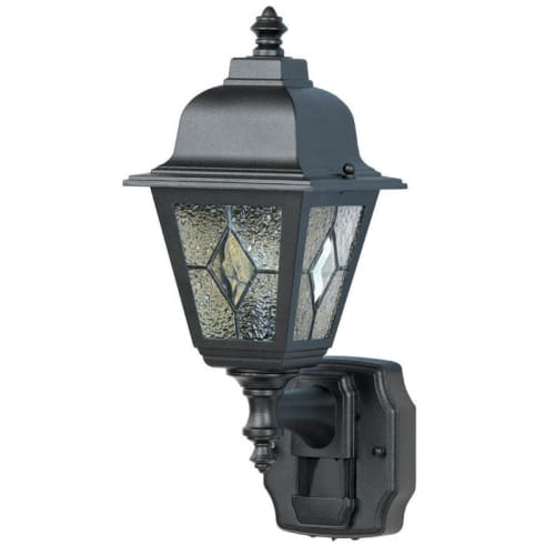 Heath Zenith HZ-4395 Classic Cottage 1-Light 180 Degree Motion Activated Outdoor Wall Sconce