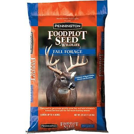 Pennington Wildlife Food Plot Seed Fall Forage, 25 lbs