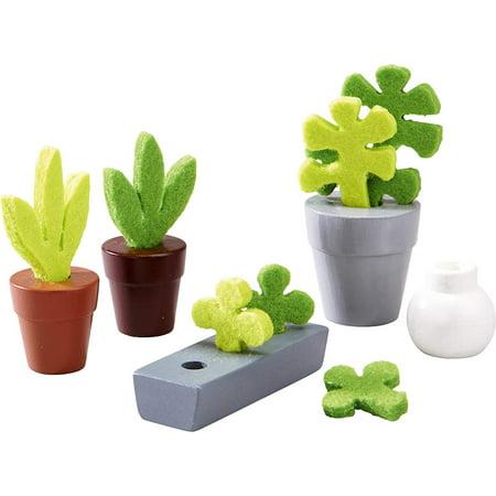 Add Some Colour (Little Friends Flowers & Plants - 5 Piece Dollhouse Accessory Set for 4