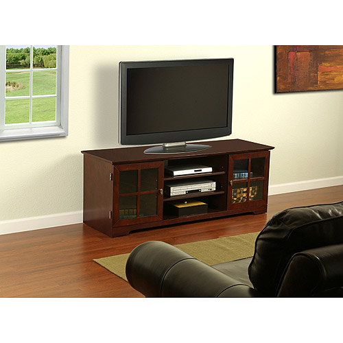 """Harcourt TV Stand for TVs up to 60"""", Mocha"""