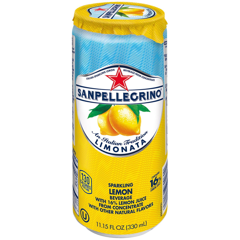 San Pellegrino Sparkling Lemon Beverage, 11.15 Fl. Oz.