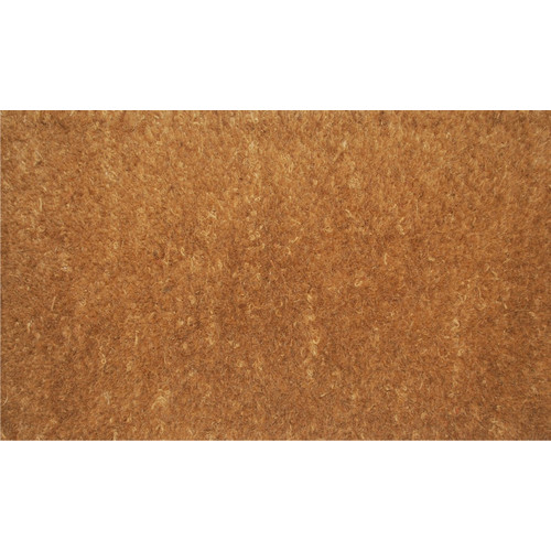 Gentil 100% Coir   1 In. Thick Natural Doormat