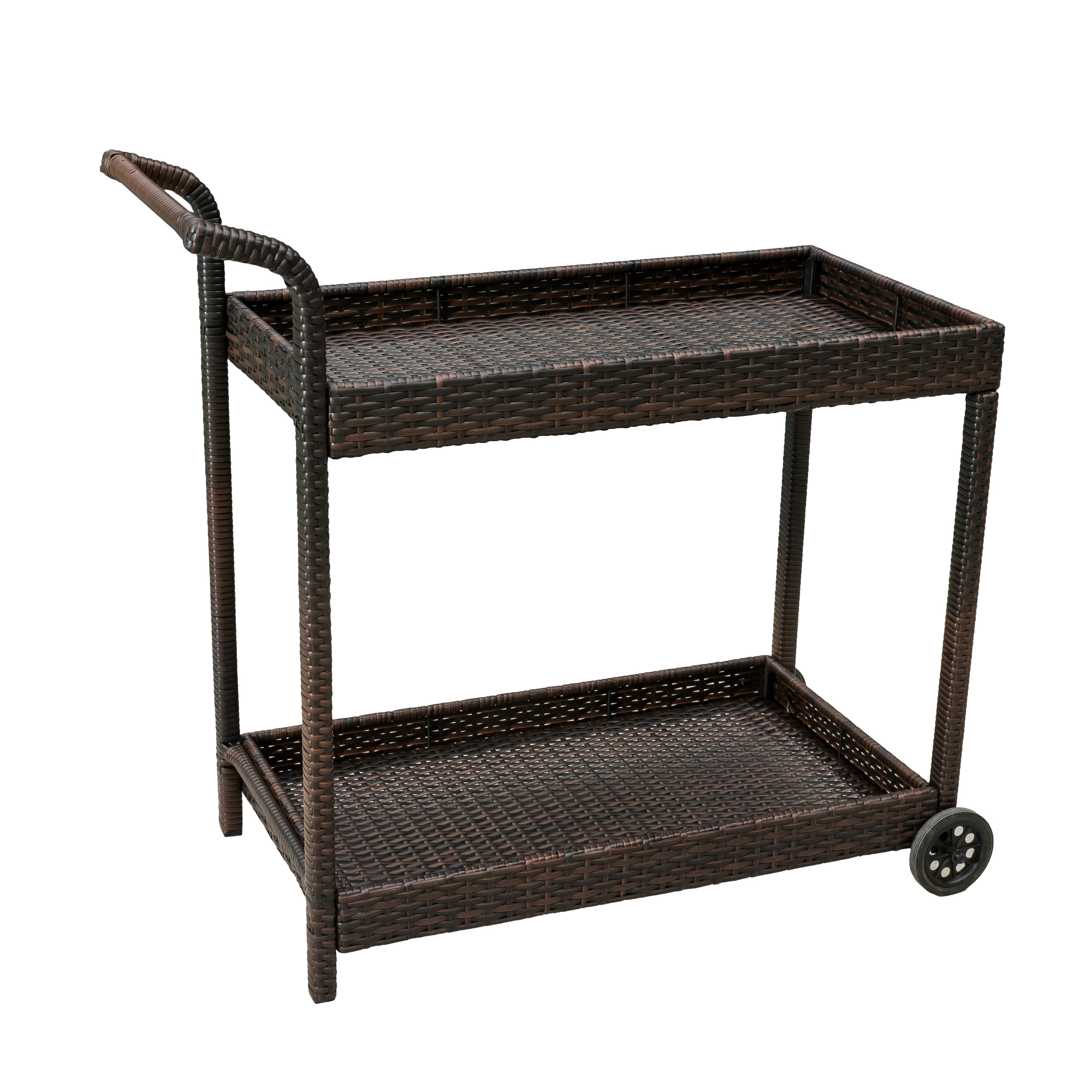 Noble House Brown Bar Cart
