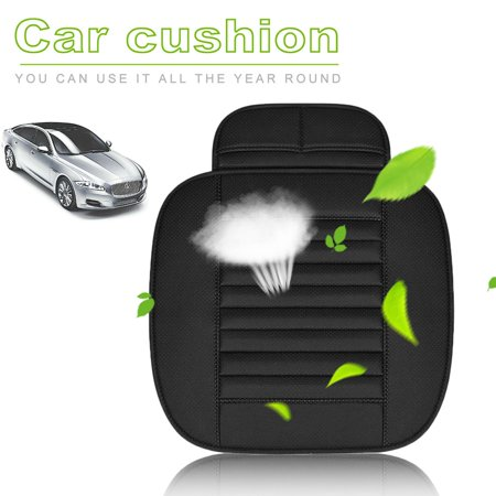(Bamboo Charcoal Car Seat Cover Four Seasons Breathable Backless Seat Cushion)