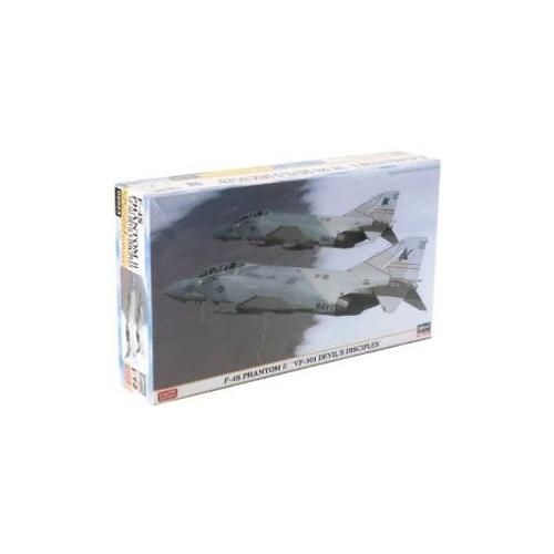 Hasegawa 2023 1:72 F4S Phantom II VF301 Devils Diciples L...