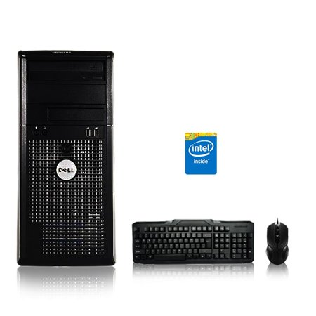 Refurbished - Dell Optiplex Desktop Computer 3 0 GHz Core 2 Duo Tower PC,  4GB, 160GB HDD, Windows 7 x64, USB Mouse & Keyboard