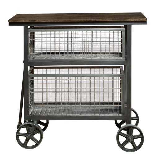 Accentrics Home Harold Accent Cart Sideboard