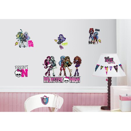 Monster High Peel & Stick Wall Decals