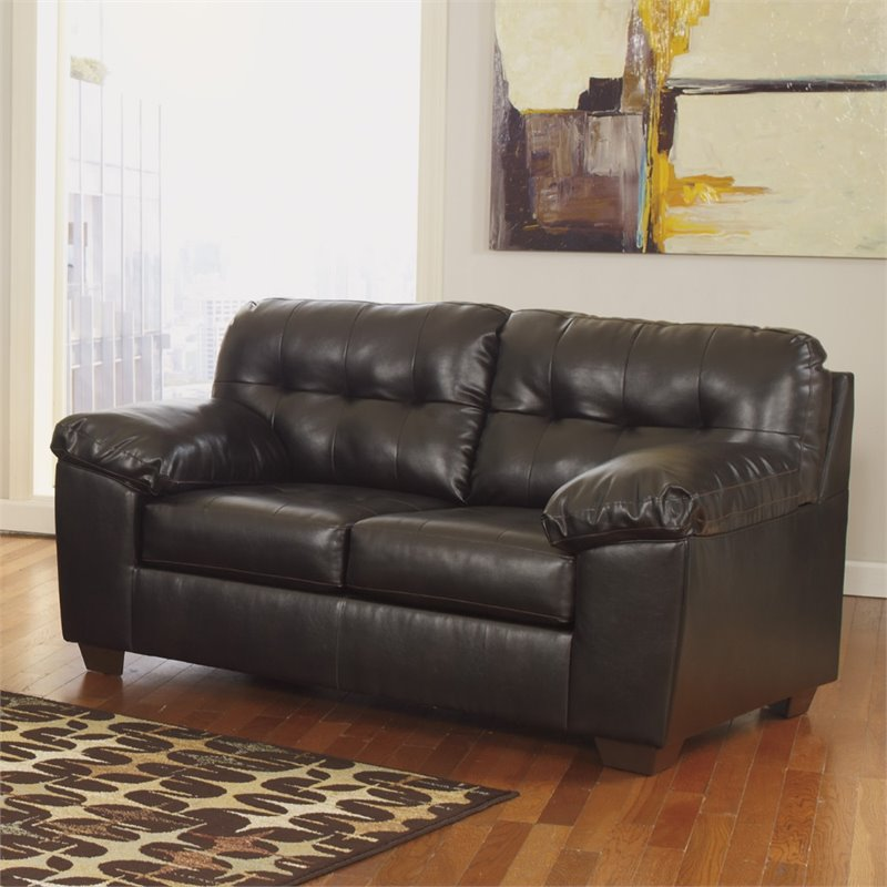 Flash Furniture DuraBlend Loveseat in Chocolate