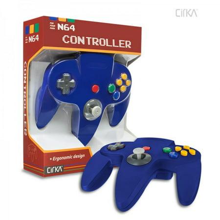 Cirka N64 Controller, Blue - Nintendo 64 ()