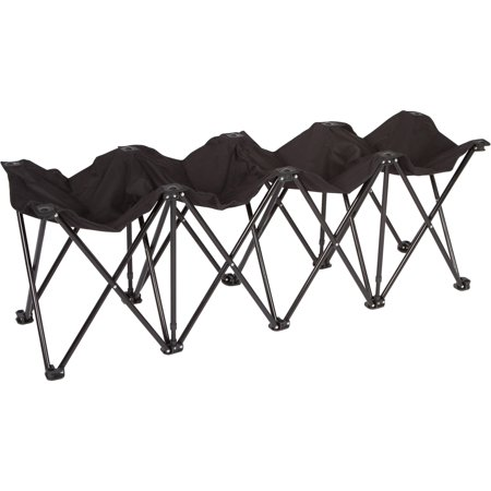 Trademark Innovations Portable 4 Seater Sports Bench Only $22.22