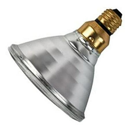Medium Skirt Base Spot (Philips Lighting 428938 PAR38 Ecovantage Halogen Lamp 72 Watt E26/50x39 Medium Skirted Base 1350 Lumens 100 CRI 2900K)