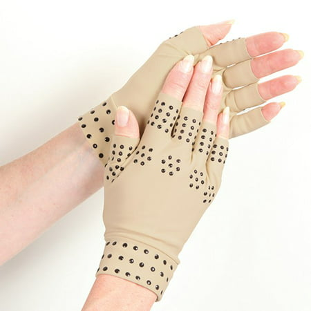 Magnetic Infused Arthritis/Pain Relieving Therapeutic Gloves - Heals Arthritis, Inflamation, Joints, and (Best Medication For Arthritis In Hands)