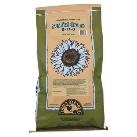 Image of Down To Earth Seabird Guano 0-11-0 Fertilizer, 40 lb.