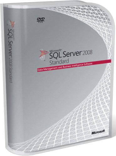 Microsoft SQL Server Standard Edition 2008 1 Processor License by Microsoft