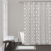 Lamont LBSC83160130 LaMont Home Equinox Shower Curtain - Grey