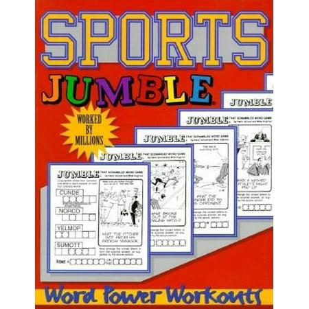Sports Jumble® : Word Power Workouts - Halloween Word Jumbles