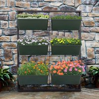 Kinbor Vertical Wall Elevated Raised Garden Bed Vegetables Herbs Flowers Gowning Planters