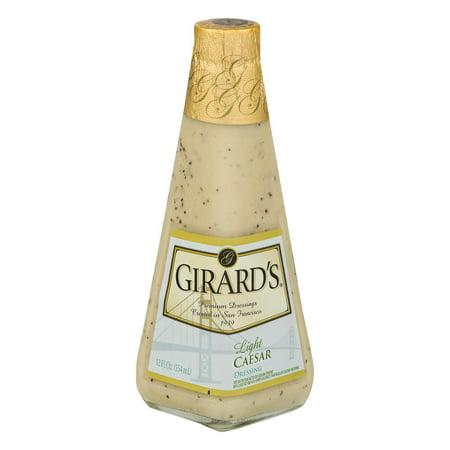 Girards Premium Dressings Light Caesar  12 0 Fl Oz
