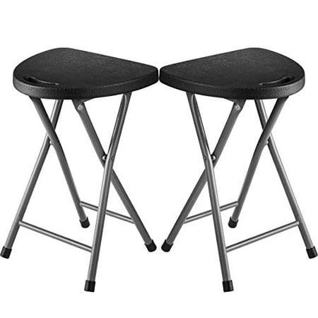 Strange Folding Stool Set Of 2 Portable Plastic Chair With Durable Creativecarmelina Interior Chair Design Creativecarmelinacom
