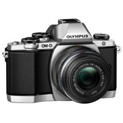 Olympus OM-D E-M10 - Digital camera - mirrorless - 16.1 MP - Four Thirds - 1080p - 3x optical zoom M.Zuiko Digital 14-42mm lens - Wi-Fi - silver