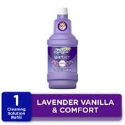 Swiffer WetJet Floor Cleaner Solution Refill, Lavender, 1 ct
