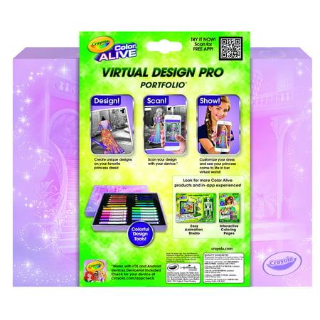 Crayola Color Alive Disney Princess Virtual Design Pro Portfolio Walmart Canada