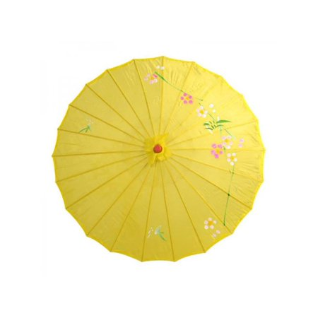 Topumt Chinese Oil Paper Umbrella Parasol Wedding Dance Ceiling Decoration Photo