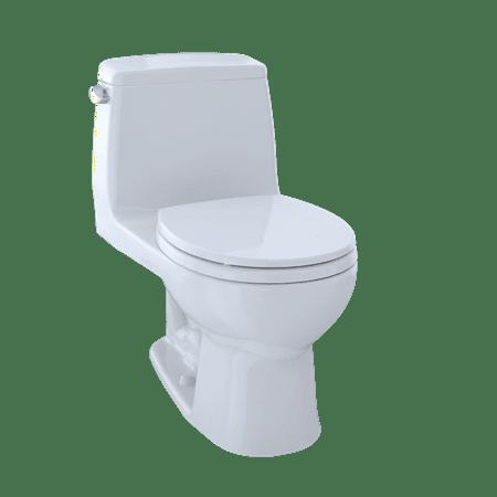 Toto Eco Ultramax One Piece Round Bowl 128 Gpf Toilet Cotton
