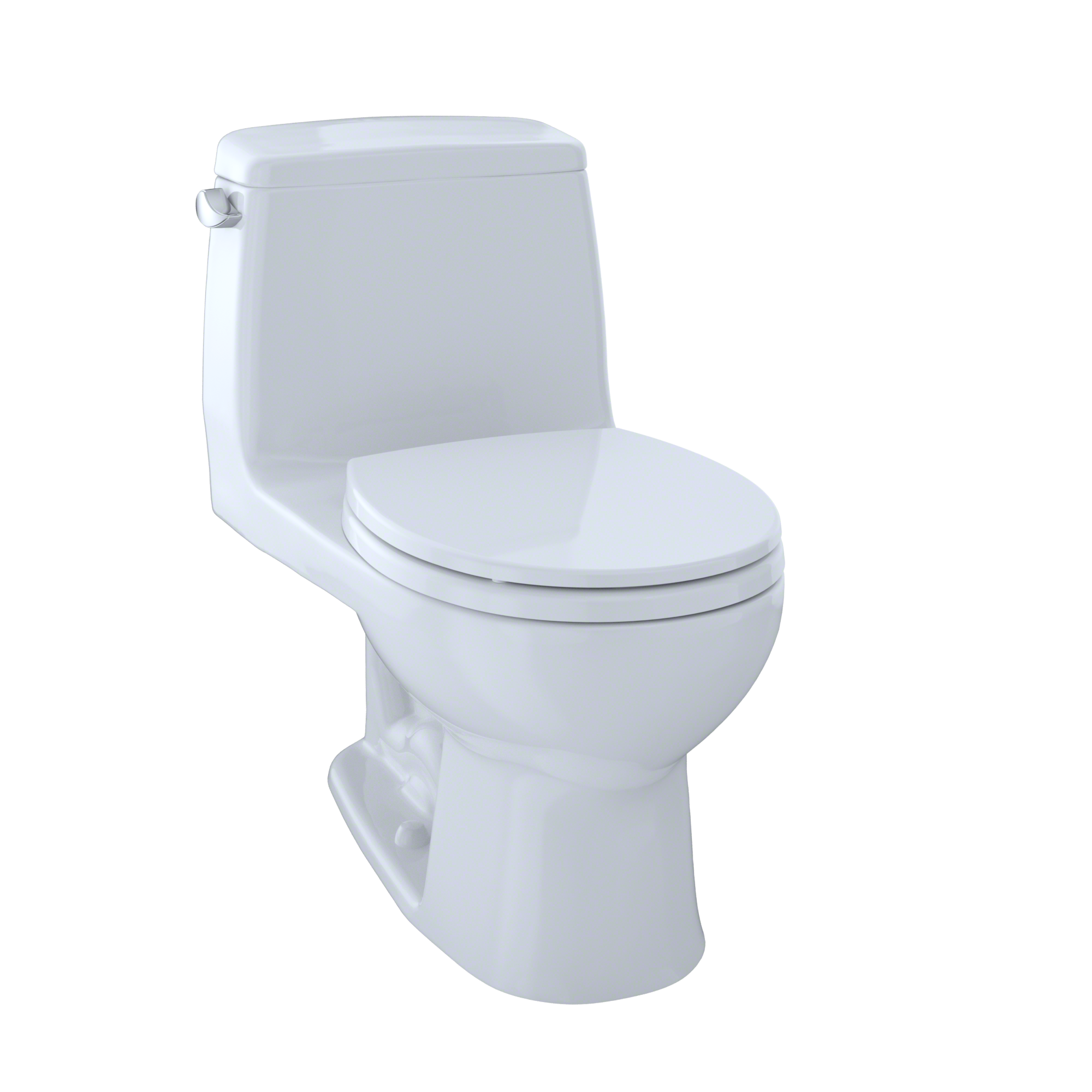TOTO? Eco UltraMax? One-Piece Round Bowl 1.28 GPF Toilet, Cotton White - MS853113E#01