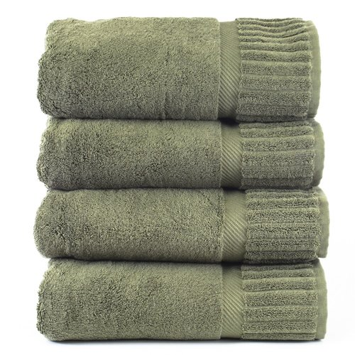 Click here to buy Bare Cotton Fiorella Bath Towel Set (Set of 4) by Bare Cotton.