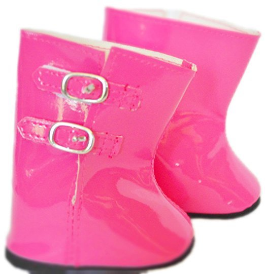 MY BRITTANY'S PINK AMERICAN RAIN BOOTS FOR AMERICAN PINK GIRL DOLLS dca228