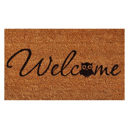 Home; More Barn Owl Welcome Outdoor Door Mat