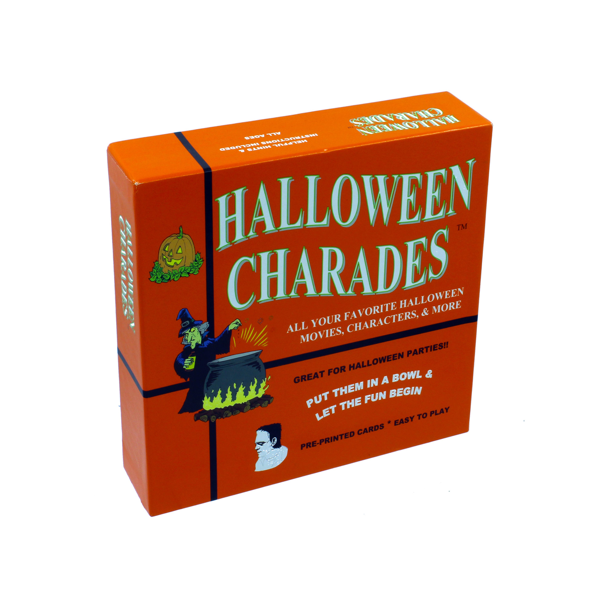 halloween charades - the perfect halloween party game - this