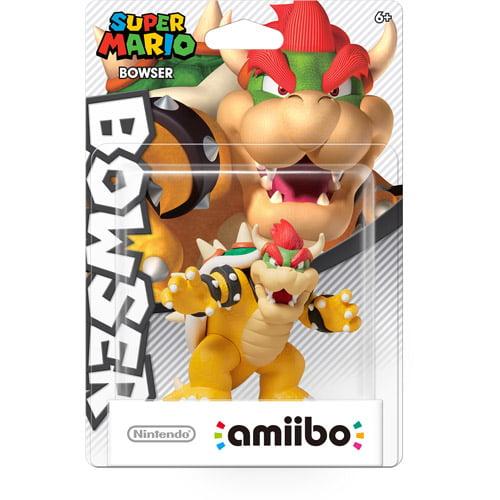Bowser Super Mario Series Amiibo (Nintendo Wii U or 3DS) by Nintendo