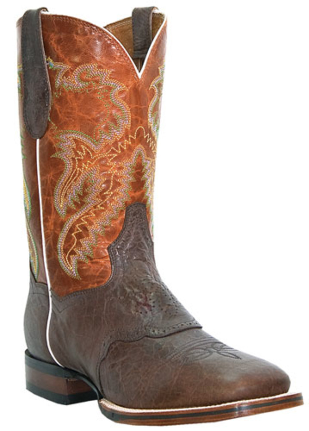 Men's Dan Post CERTIFIED Stockman Boots BROWN 8 D