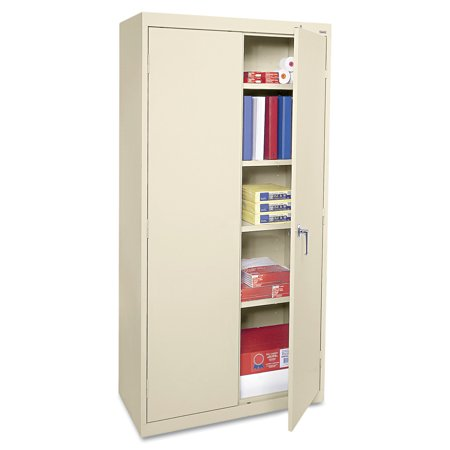 Alera Economy Embled Storage Cabinet 36w X 18d 72h Putty