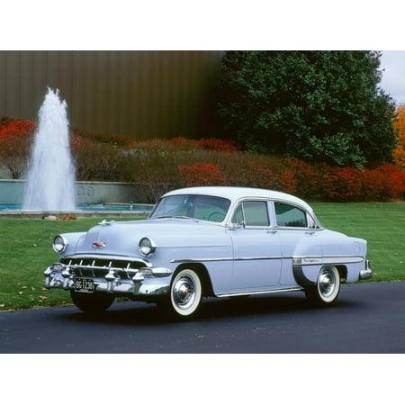 1954 Chevrolet Bel Air Print Wall