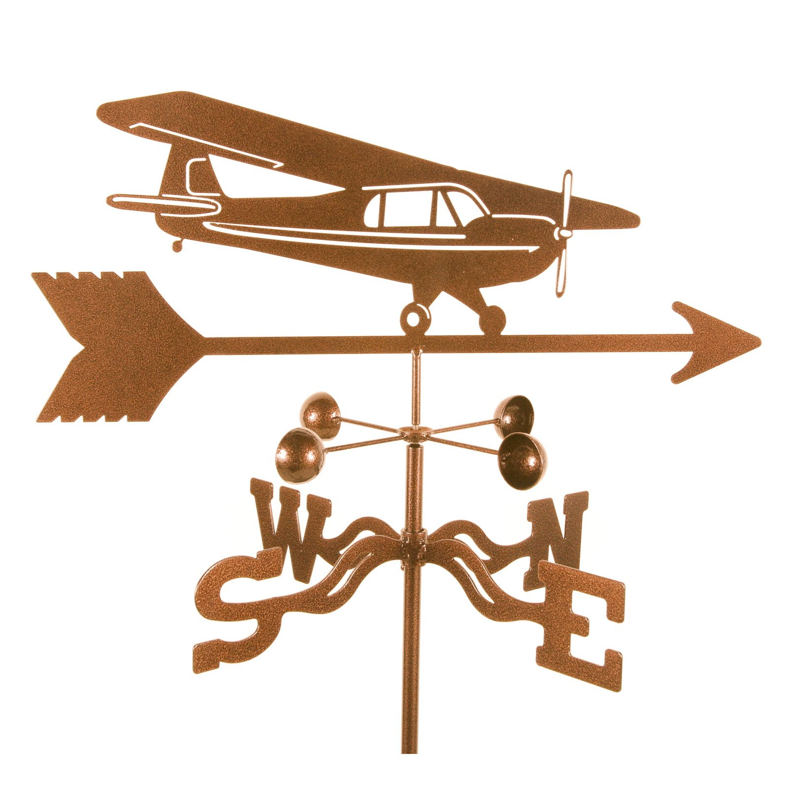 EZ Vane Airplane Hi Wing Weathervane by EZ Vane