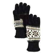 Isotoner Women's Signature Casual Knit Chenille Gloves
