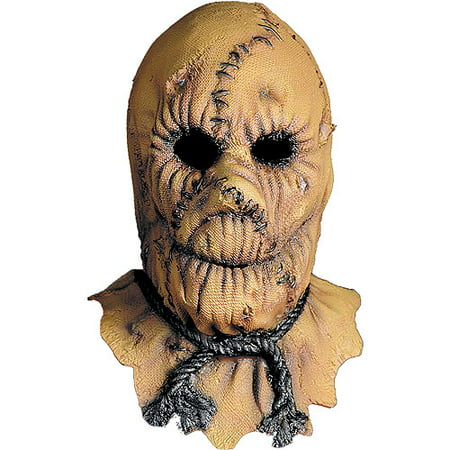 Scarecrow Adult Halloween Latex Mask Accessory - Scarecrow Mask