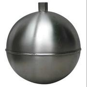 NAUGATUCK GR10S418HF Float Ball,Round,SS,10 In
