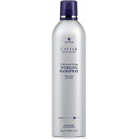 Alterna Caviar Anti-Aging Professional Styling Working Hairspray, Flexible Hold, 15.5-Ounce