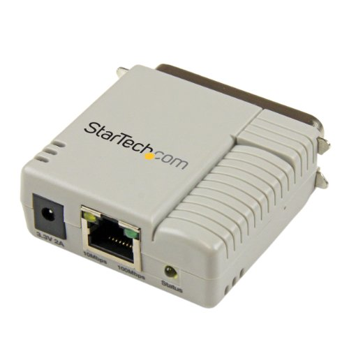 StarTech 1-Port 10/100Mbps Ethernet Parallel Network Print Server