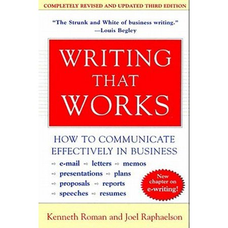 Writing That Works, 3rd Edition - eBook