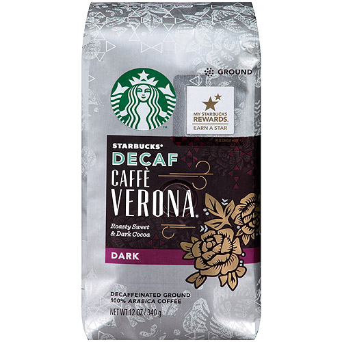 Starbucks�� Decaf Dark Caffe Verona Ground Coffee 12 oz. Bag